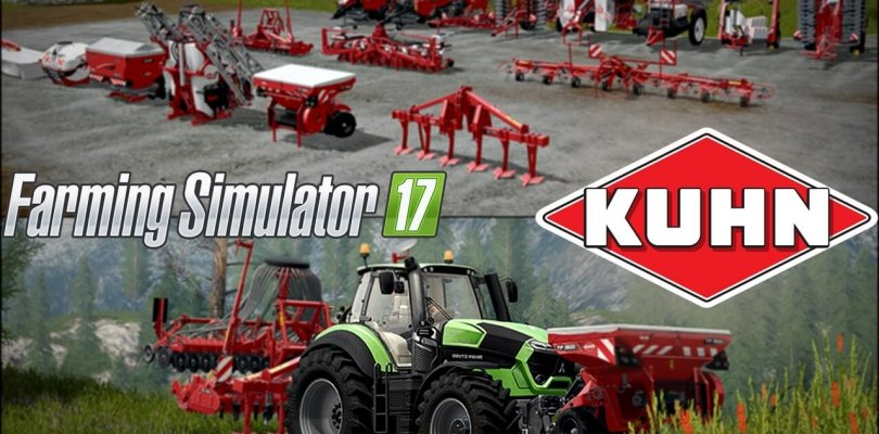 Farming Simulator 17 - KUHN Equipment Pack | Download Free