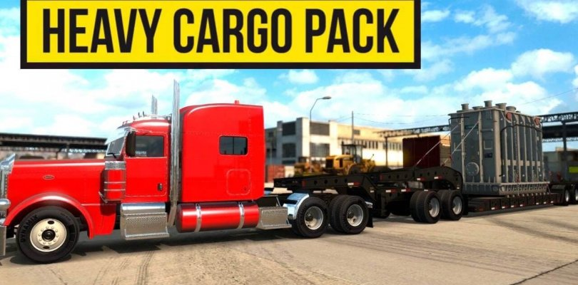 American Truck Simulator - Heavy Cargo Pack - Download DLC - Cracked