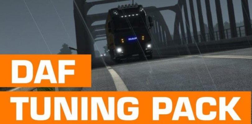 Euro Truck Simulator 2 - DAF Tuning Pack | Download Free DLC Cracked